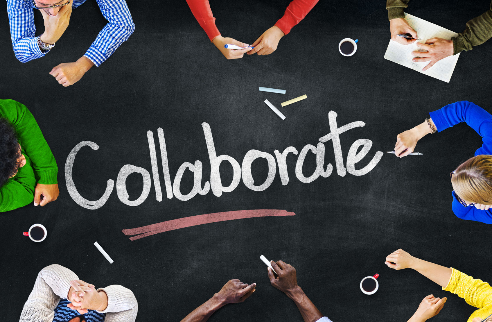 collaborate in tiktok with others