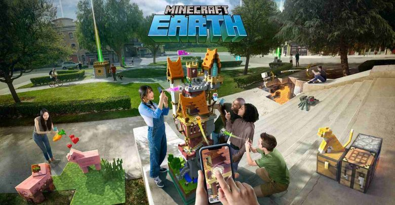 Minecraft Earth / دانلود بازی Minecraft Earth